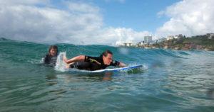 come remare nel surf
