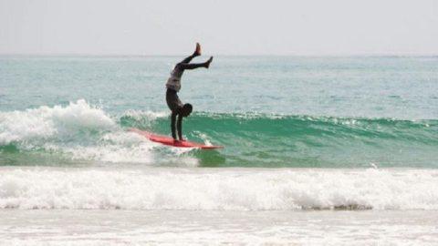 esercizi da fare per l'equilibrio per il surf