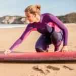 abbigliamento surf  donna: muta corta