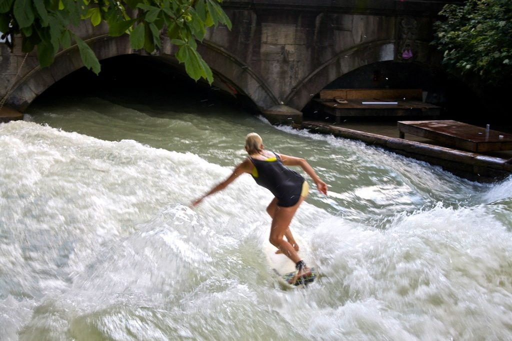 come fare river surfing germania