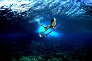 come fare duck dive immergersi surf