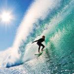 Posizione surf sull'onda (surf tecniche e manovre)